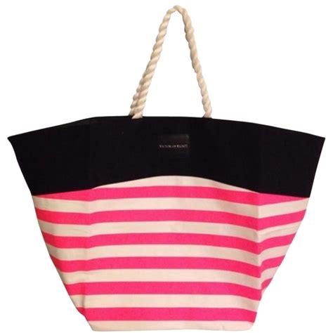 Tas Secret Tote Ori 1 s secret tote pink striped bag tradesy