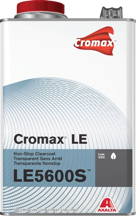 Stop Clear cromax le5600s air productive clearcoat gallon