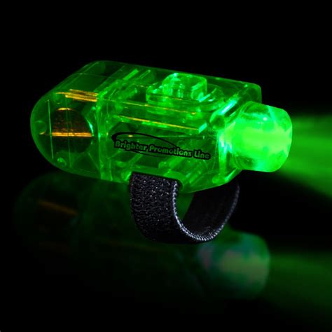 green led finger lights