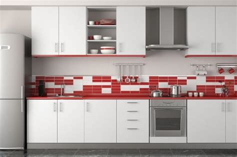 Red Kitchen Backsplash by Simple Kitchen Backsplash Ideas Slideshow