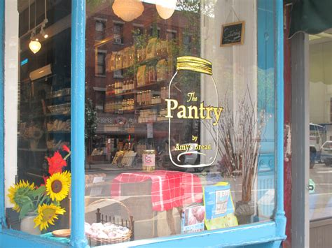 welcome to the pantry by amy s bread located in nyc s