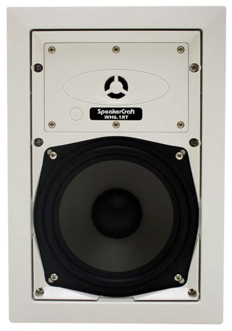speakercraft 174 wh6 1rt whole house audio inwall speaker
