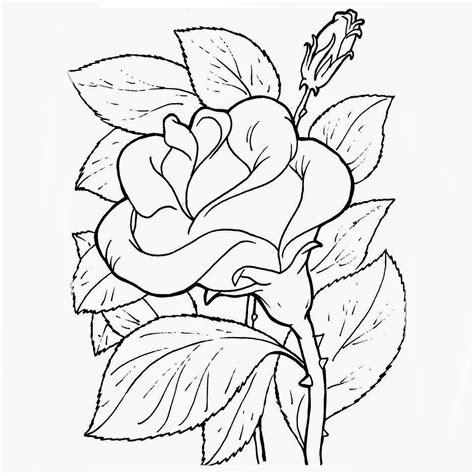 imagenes realistas para pintar plantillas de flores para colorear