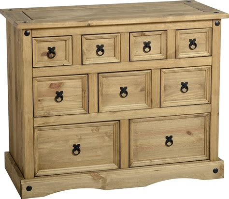 Corona Dresser by Chest Of Drawers Pine Corona Bedroom Furniture Solid Wood Bedside Tables Ebay