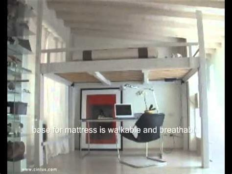 bed and living loft bed living room design ideas