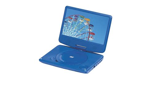 9 Dvd Player From Asda by Polaroid 9 Inch Swivel Neck Blue Portable Dvd Player