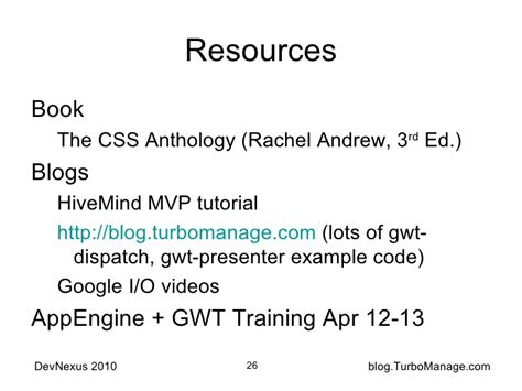 css gwt tutorial gwt mvp case study