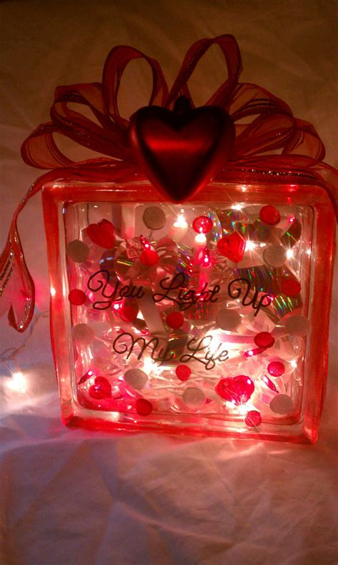 how to decorate glass blocks 6 quot square glass block lighted decoration