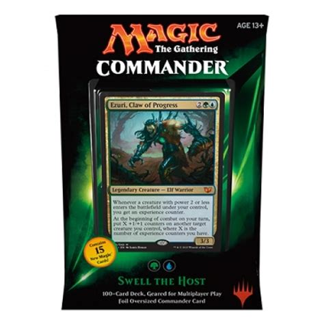magic commander decks commander deck 2015 swell the host magic the gathering