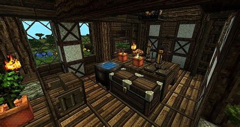 House Alchemy by Survival House 7 Textures Minecraft Project