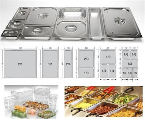 contenitori acciaio per alimenti contenitori e bacinelle gastronorm