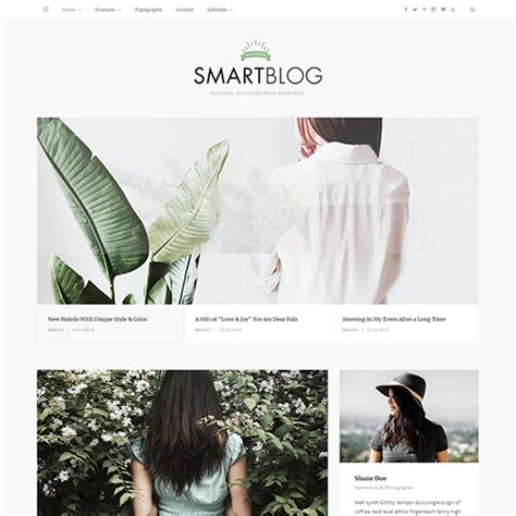 blog theme smartblog 15 best wordpress themes for writers and authors free