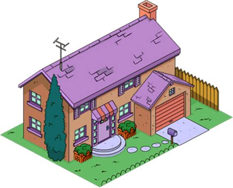 haus der simpsons evergreen terrace 740 ned flanders haus simpsons wiki