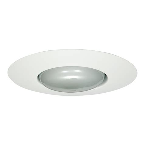 Halo Ceiling Lights Halo 6 In Satin Nickel Recessed Ceiling Light Metal Baffle Trim 353sn The Home Depot