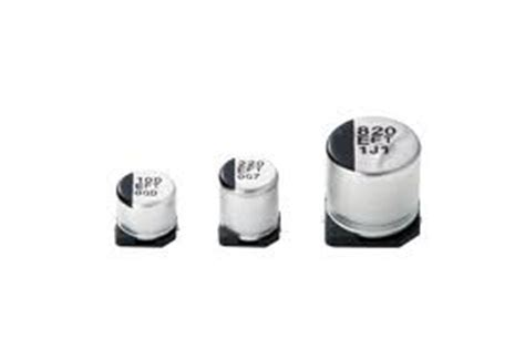 surface mount electrolytic capacitor capacitors