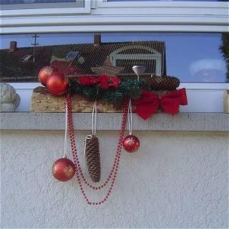 Weihnachtsdeko Fensterbank Draussen by Weihnachtsdeko F 252 R Die Fensterbank Drau 223 En