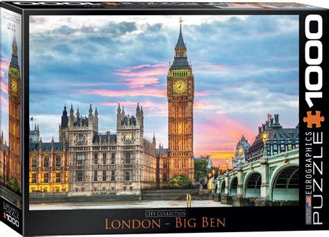 london big ben jigsaw puzzle  eurographics