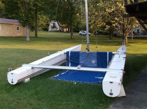 catamaran boat craigslist 1986 87 reg white tornado catamaran sailboat classifieds