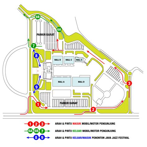 layout jiexpo kemayoran jakarta international java jazz festival