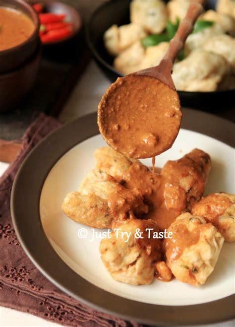 resep batagor just try taste resep batagor daging ayam dengan saus