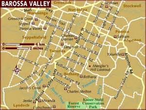valley map map of barossa valley