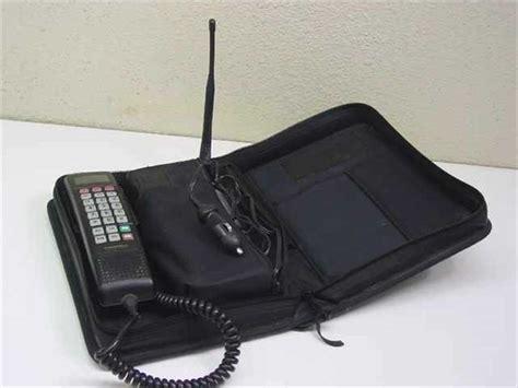 still using a bag phone