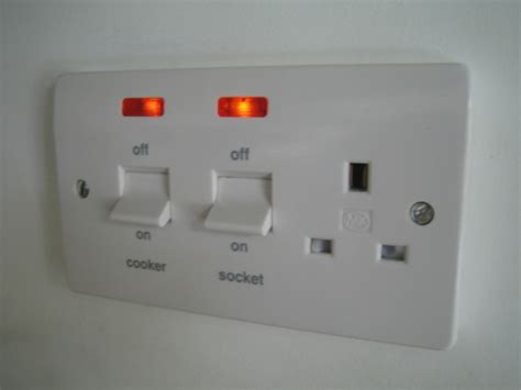 electric shower isolator switch regulations wiring