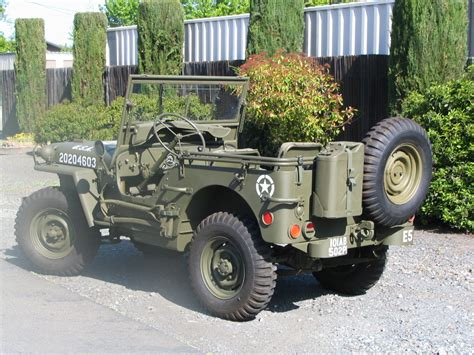 ford gpw classic military automotive 187 1943 ford gpw jeep 20 500