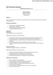 Resume Sles Gis Architect Technician Resume Sales Technician Lewesmr