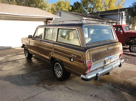 Jeep Grand Wagoneer Restoration Parts Purchase Used 1988 Jeep Grand Wagoneer Restoration Project