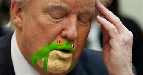 people with big foreheads who pull it off somebody noticed donald trump s chin looks like a frog