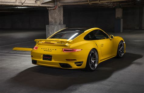 porsche yellow yellow porsche 911 turbo s another production big
