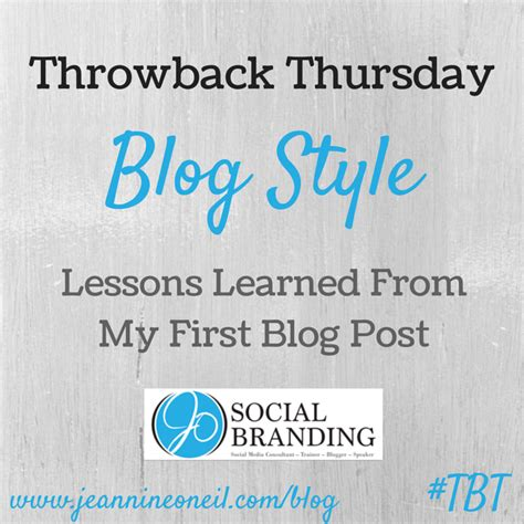 throwback thursday lessons learned s throwback thursday lessons learned from my post jo social branding