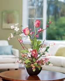 cherry blossom arrangements shop cherry blossom dogwood tulip silk flower arrangements at petals