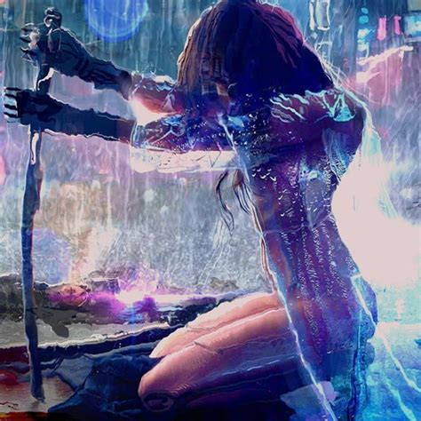 cyberpunk girl wallpaper engine   cyberpunk girl