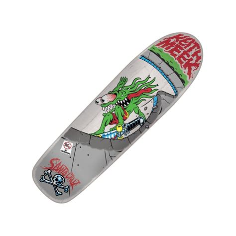 Handmade Skateboards - santa skateboards meek layback slasher custom shape