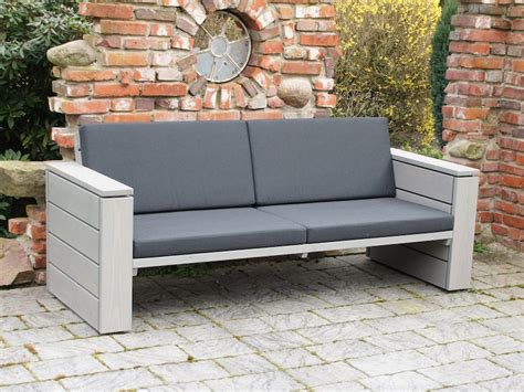 Lounge Sofa Holz lounge sofa outdoor holz schmauchbrueder