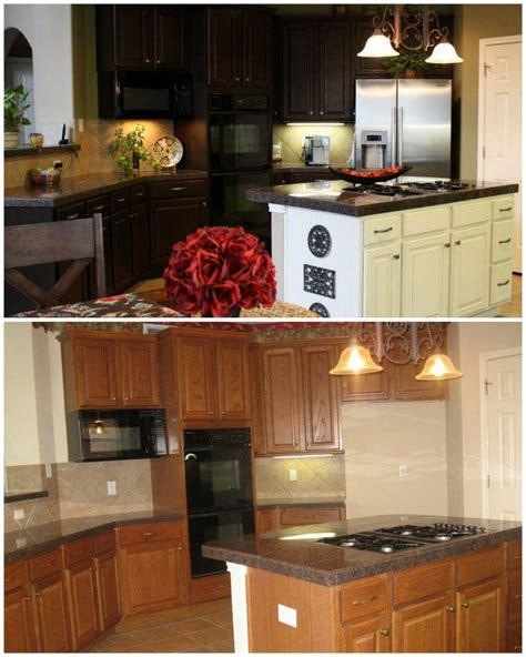 diy gel stain kitchen cabinets cabinet update using gel stain gel stains from gf
