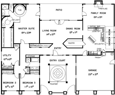 h shaped floor plan hollans models garage plans southwest