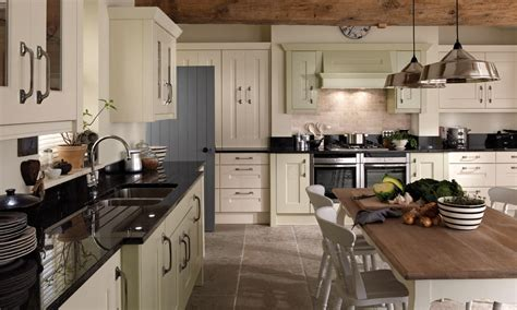 Kitchens Co by Langham Classic Painted Wood Kitchen In Various Colours