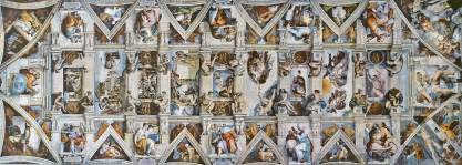 sixtinische kapelle decke italy ipseand