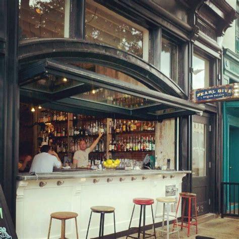 Pearl Dive Washington Dc Stunning Garage Door Bar Great Restaurant Garage Doors