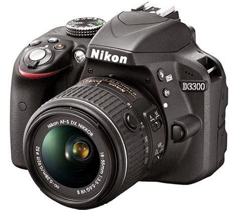 Kamera Dslr Nikon D3300 Terbaru nikon d3300 kamera dslr dengan fitur active d lighting digitalizer