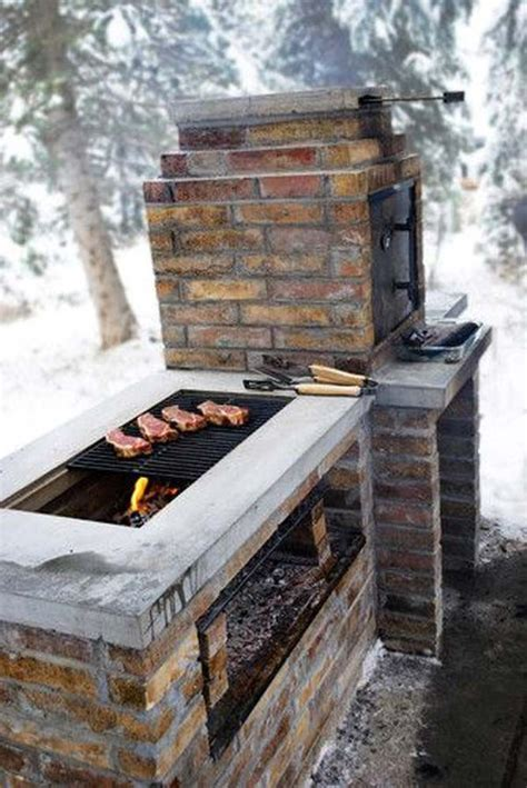 grille barbecue 592 25 best brick grill ideas on diy grill brick