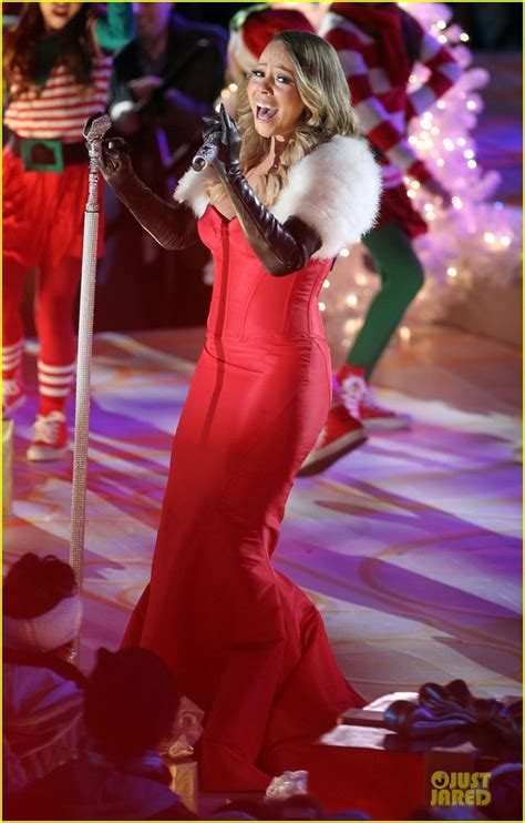 mariah carey rockefeller center christmas tree lighting