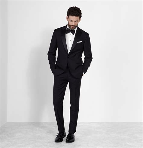 Tuxedo Black the limelight with a black tuxedo fashionarrow