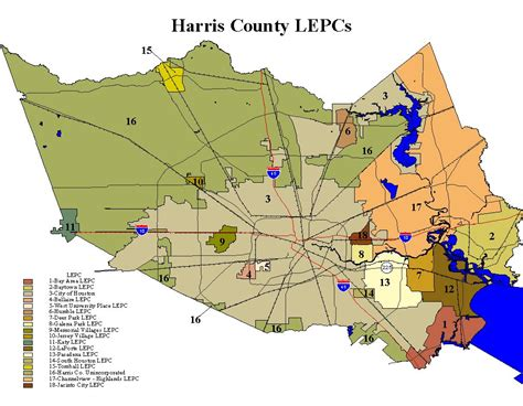 harris county map texas harris county houston zip code map