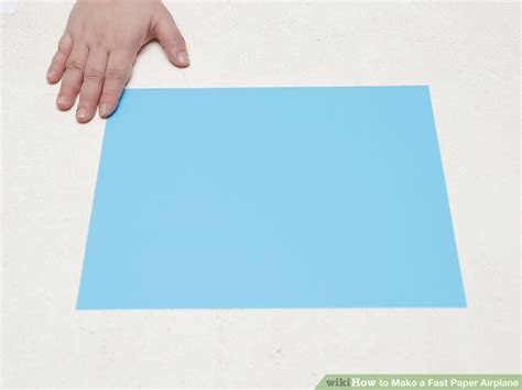 How To Make Fast Paper Airplanes Step By Step - how to make a fast paper airplane 15 steps with pictures