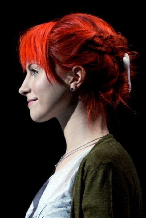 is hailey williams hair naturally red red hair again hayley william s hair photo 17419388