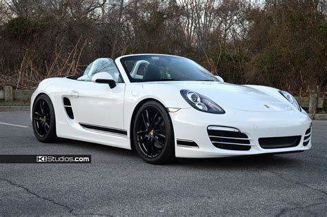 porsche boxster white ki studios simple stripe kit 001 for porsche 981 boxster
